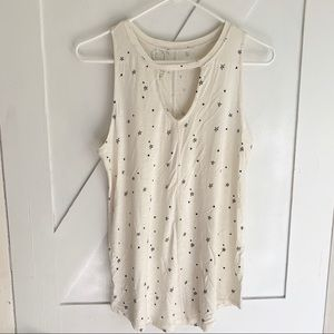 Maurices Cutout High Neck Tank Top